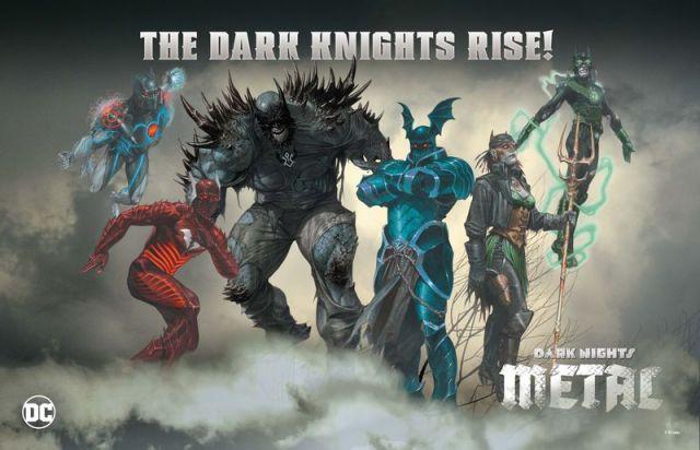 Metal dark batmen