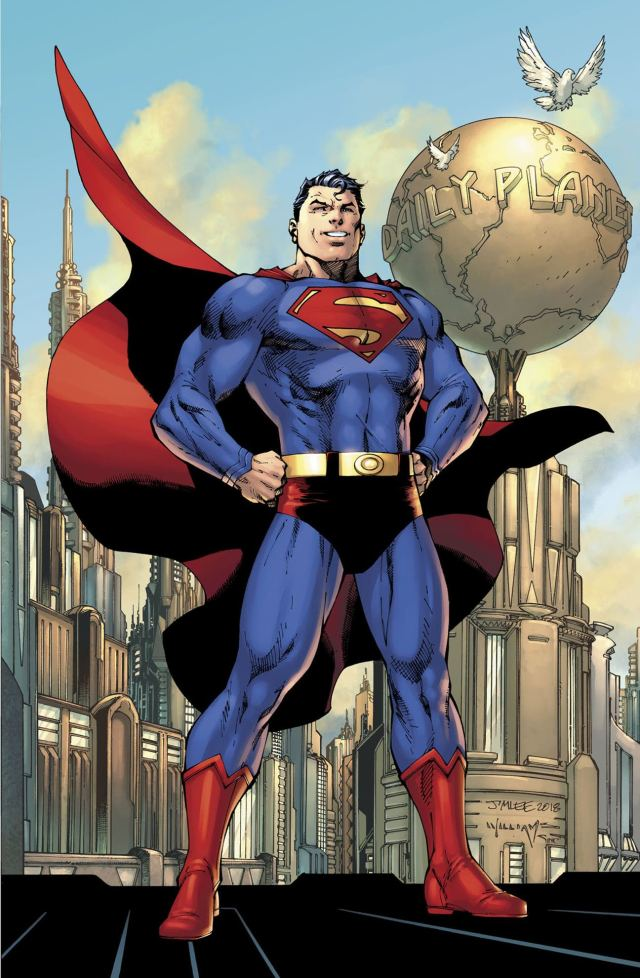 Action Comics #1000 - Classic Red Trunks Look For Superman