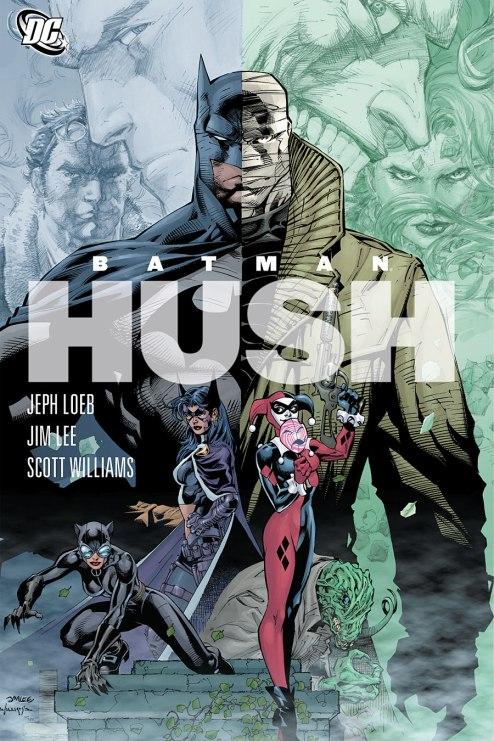 batman hush batman comic books to read