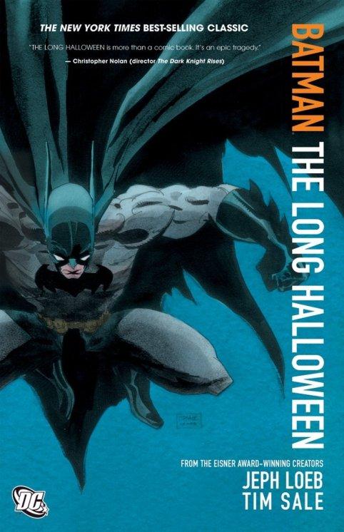 long halloween batman comic books