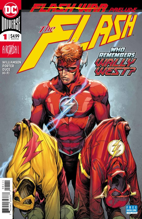 flash war prelude annual